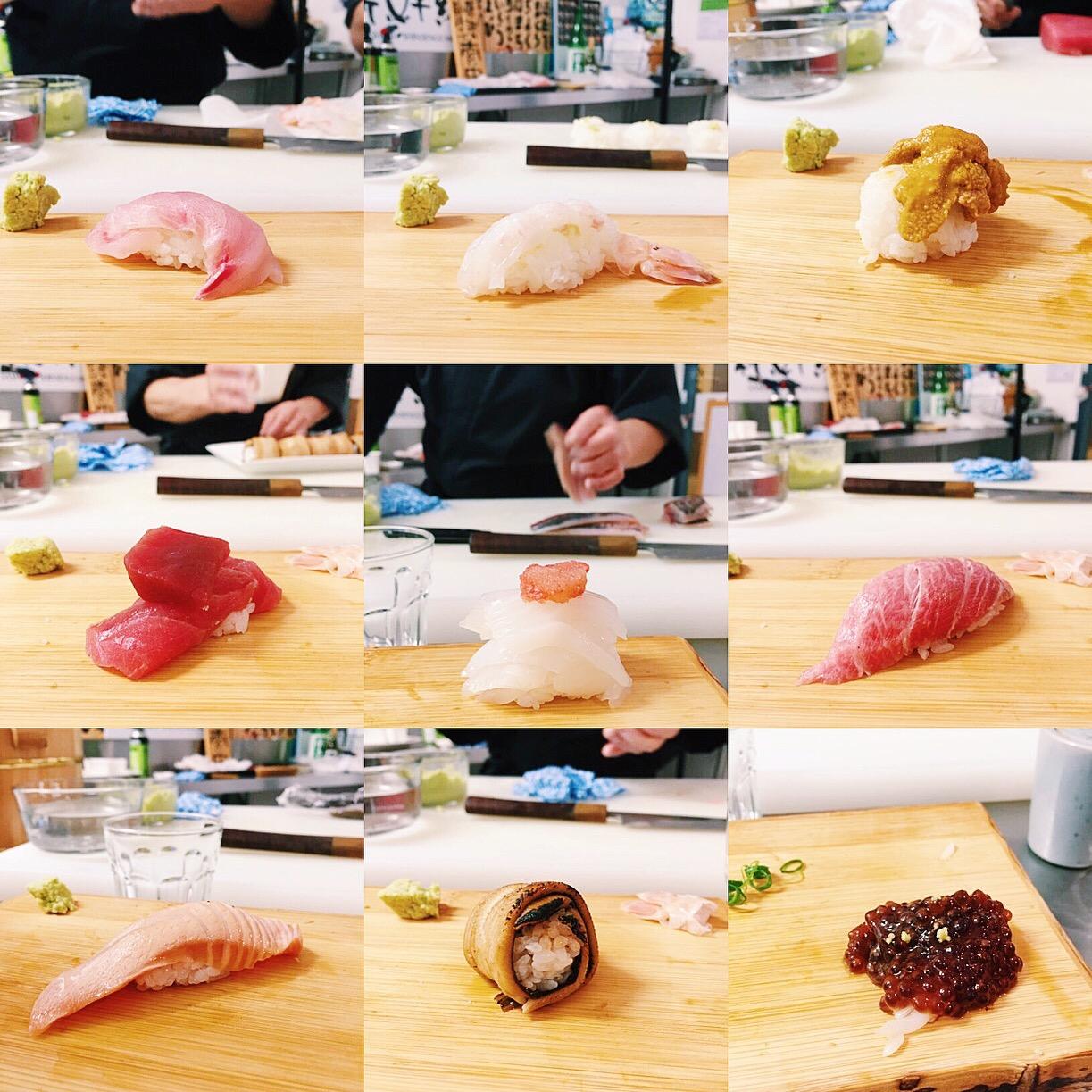 Shinsengumi omakase dinner in Sydney