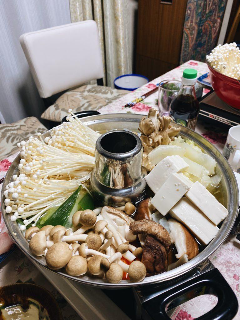 anjo new years japan oshogatsu shabu shabu