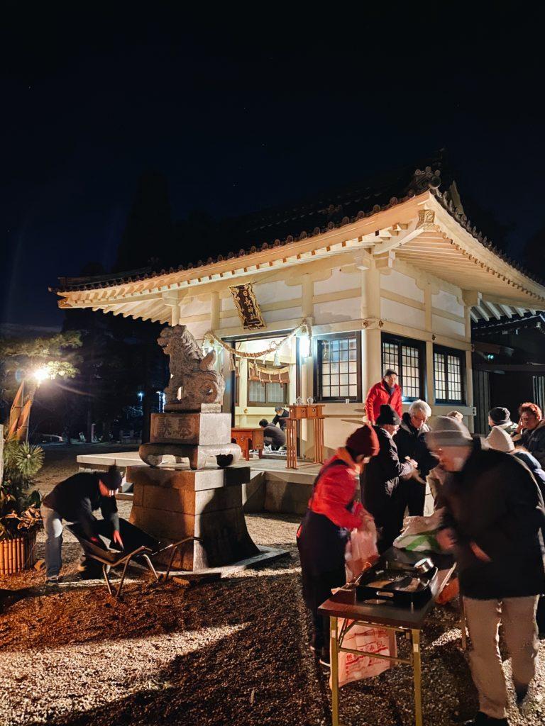 anjo new years japan oshogatsu shrine