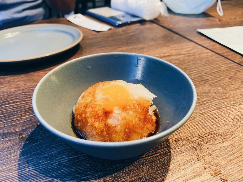 Yakitori Toriyama  Daikon with Egg