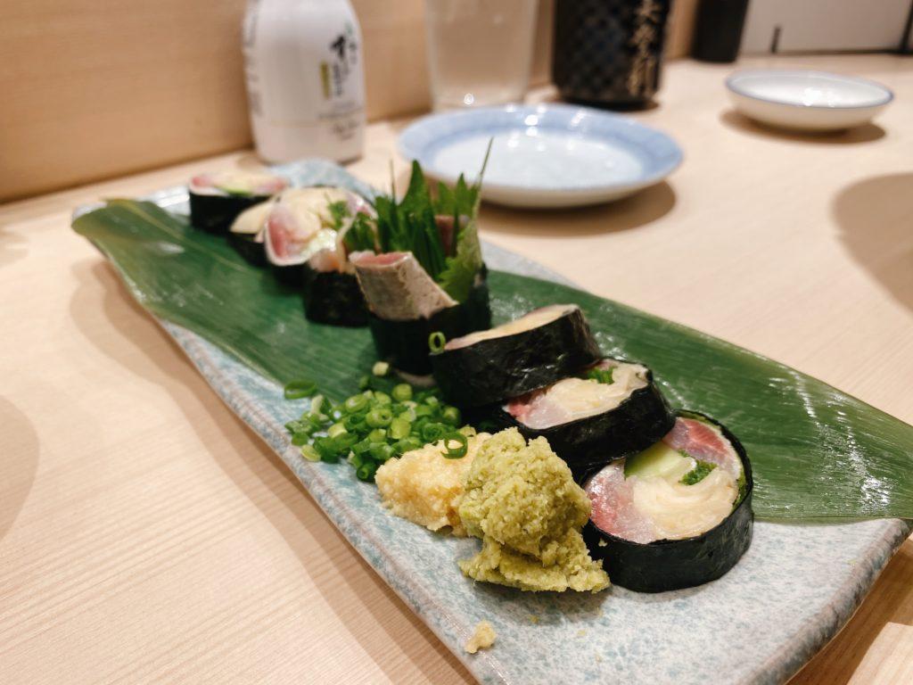 sushi roll japan tokyo