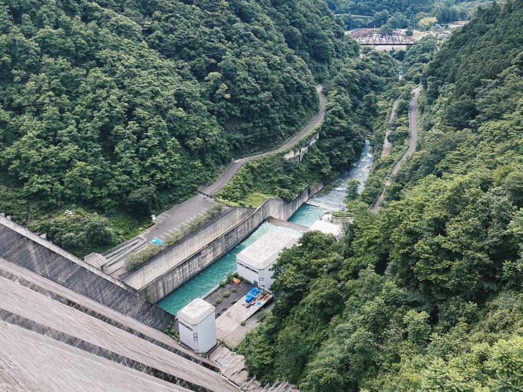Urayama dam in Chichibu Japan