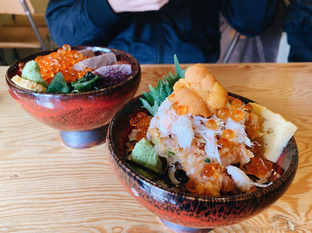 Namino Shibuya seafood bowl kaisendon