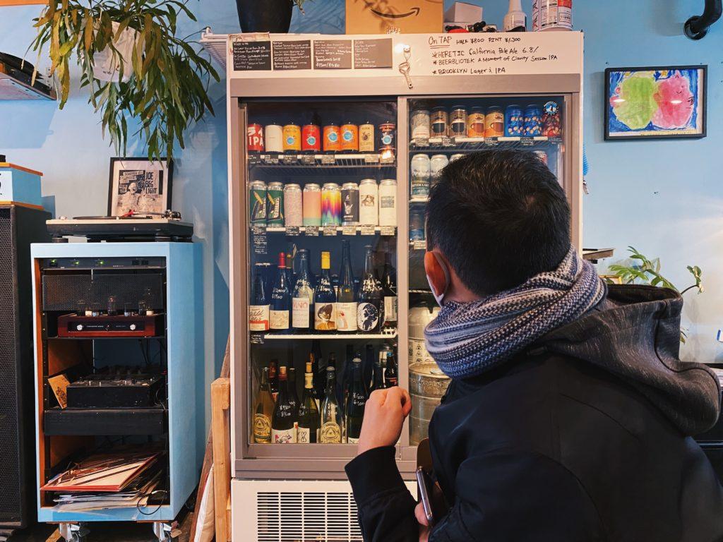 Freeman Shokudo Japanese food Shibuya Tokyo beer selection